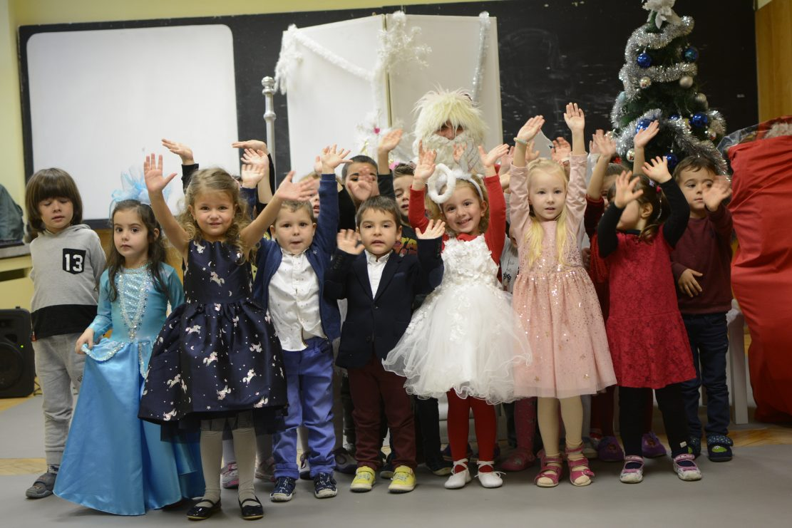 "Дядо Коледа в Частна детска градина ""Мечтатели"""