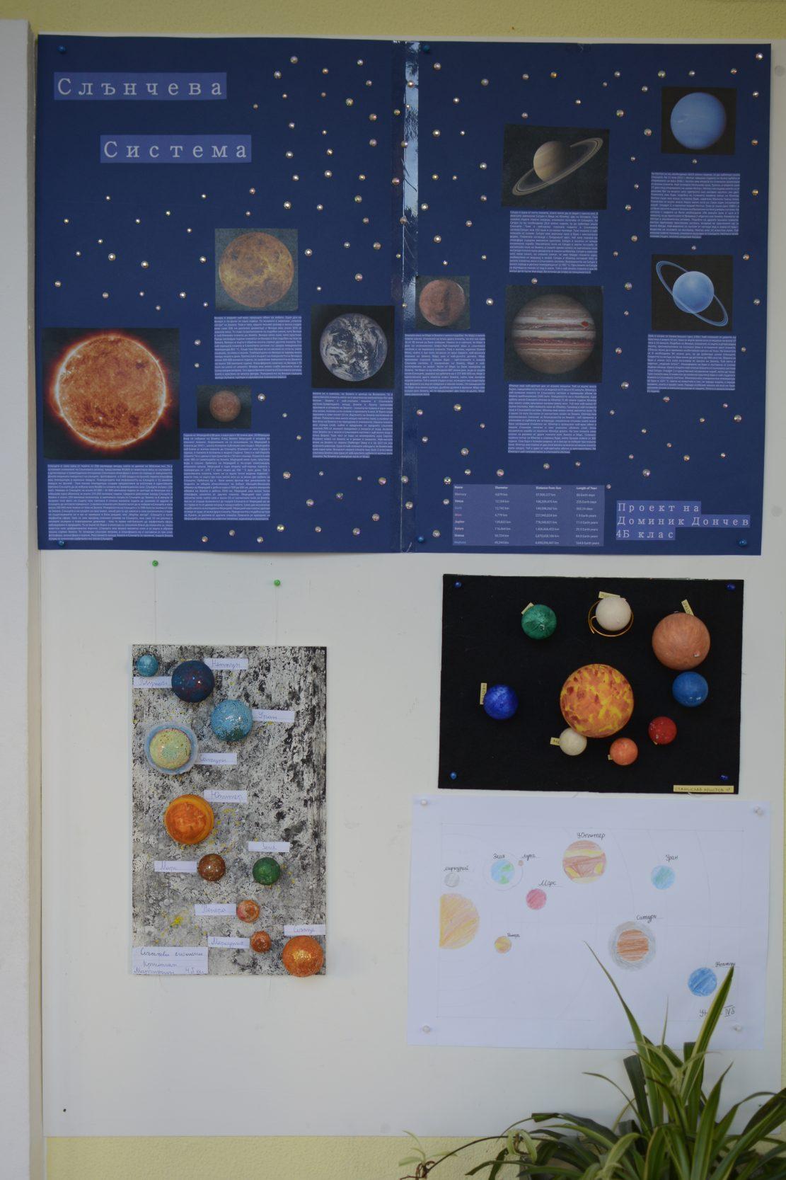 Проект на Слънчевата система